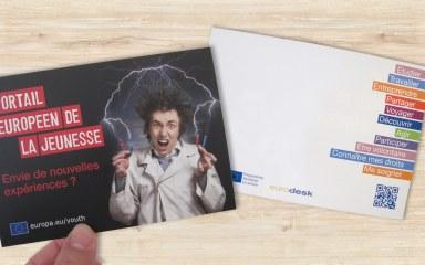 Eurodesk carte postale