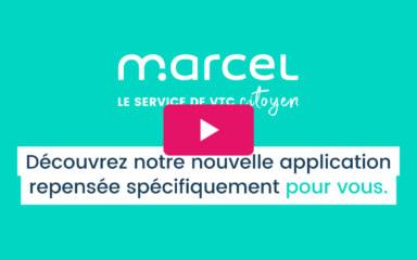 Marcel, le service de VTC citoyen