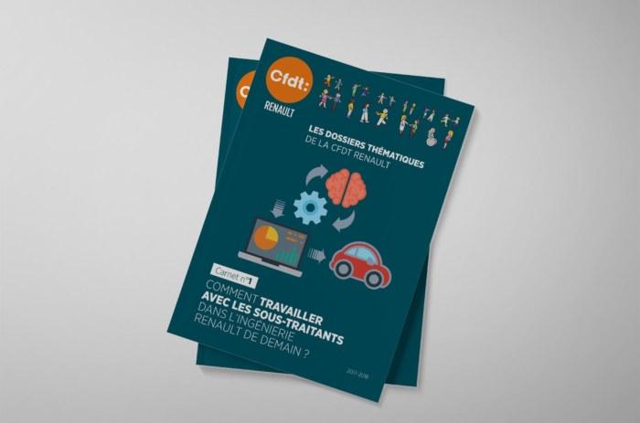Carnet thématiqye de la CFDT Renault